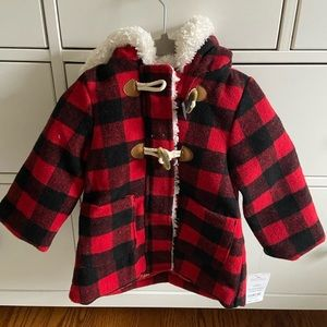 Buffalo Check Toddler Coat